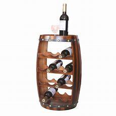 Lavish Home 25bottle Brown Floor Wine Rack8317  The