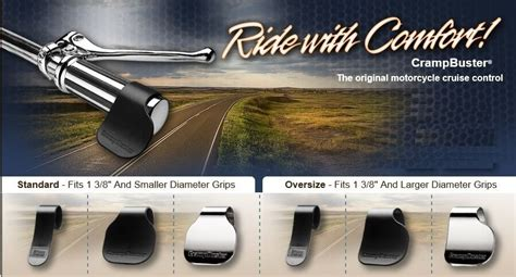 Motorcycle Cruise Control Assist Crampbuster Throttle