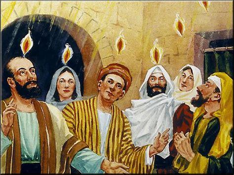 warta maranatha ketika roh kudus dicurahkan