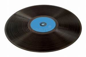 Old vinil record stock image. Image of plate, discotheque ...