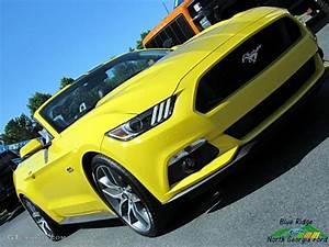 2017 Triple Yellow Ford Mustang GT Premium Convertible #121245784 Photo #33 | GTCarLot.com - Car ...