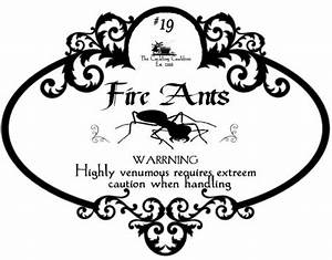 Fire Ants Label