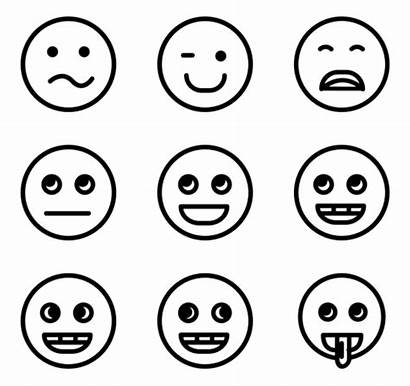 Emotions Icon Icons Smile Face Packs Faces