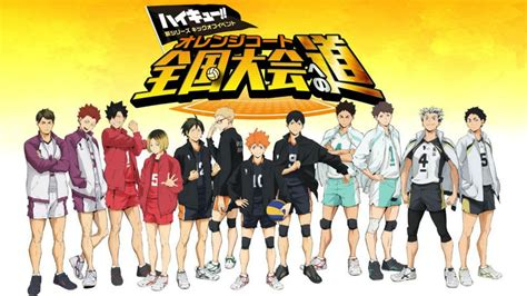 waooo season   haikyuu  coming  january