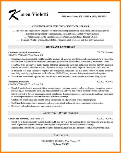 Skills Based Resume Template by 4 Skills Based Resume Template Word Officeaz