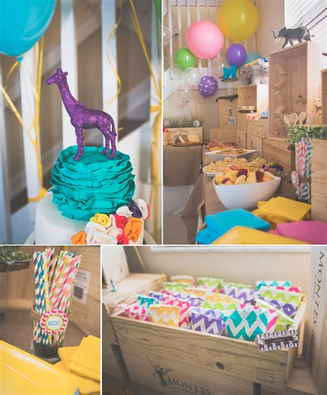 Kara's Party Ideas Wild Child Safari Girl Boy Animal 3rd