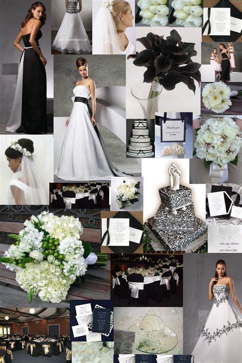 black and white wedding dresses glamourous gowns black white colour theme for a wedding