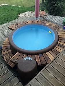 whirlpool on the patio garten pinterest patios hot With whirlpool garten mit bistromöbel balkon