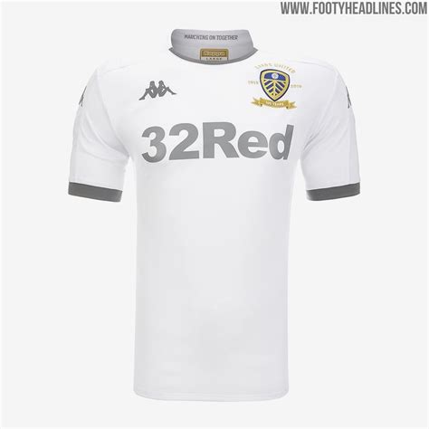 leeds united centenary home kit released footy headlines