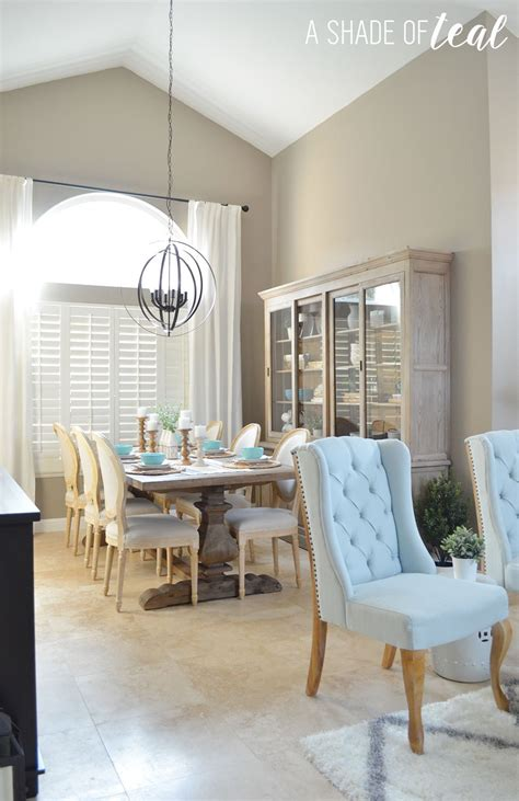 modern rustic dining living room orc dining room reveal