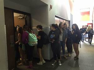 students face strict new tardy policy the sentinel With all the girls waiting in line for the bathroom