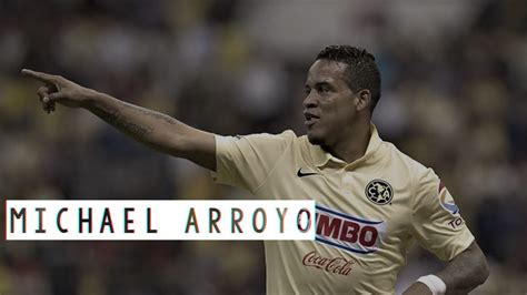 michael arroyo club america goles  jugadas