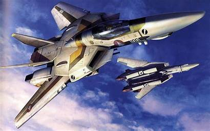 Fighter Jet Macross Military Aircraft Airplane Wallpapers