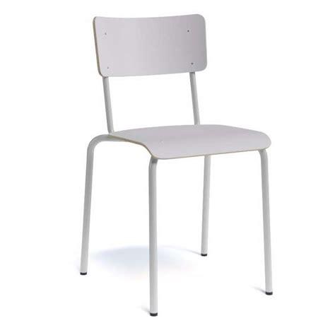 4 pieds 4 chaises chaise vintage en métal et bois collège 4 pieds