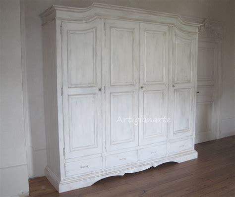 armadio shabby chic fai da te 3 mobili stile shabby chic per te rigorosamente bianchi