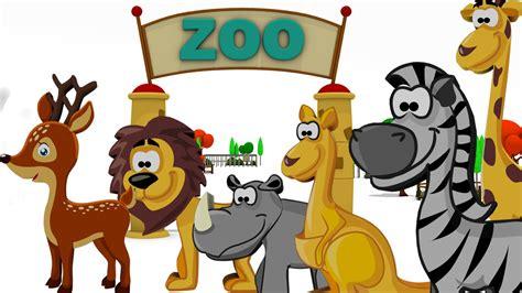 zoo animals children animal wild names learn english