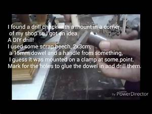 How to make a DIY Hand Drill - YouTube