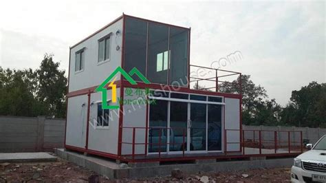 low cost haus prefab contianer house and office