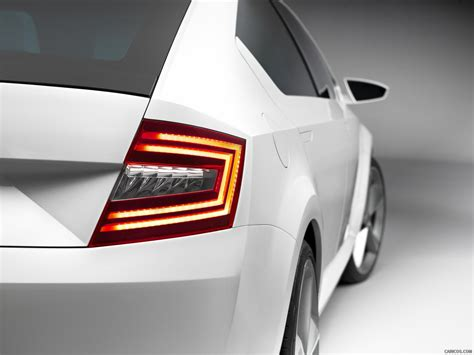 Skoda Visiond Design Concept Rear Light Wallpaper 64