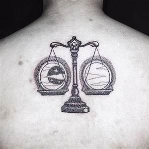 Lune Dessin Tatouage : d couvrir le charme d un tatouage balance ~ Melissatoandfro.com Idées de Décoration