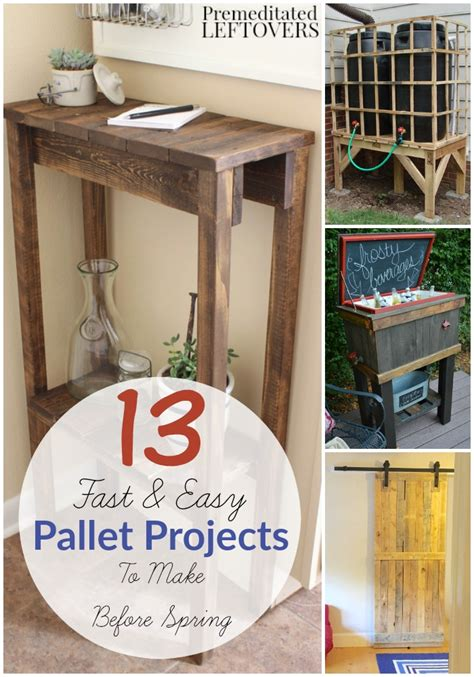easy pallet projects 13 easy diy pallet projects