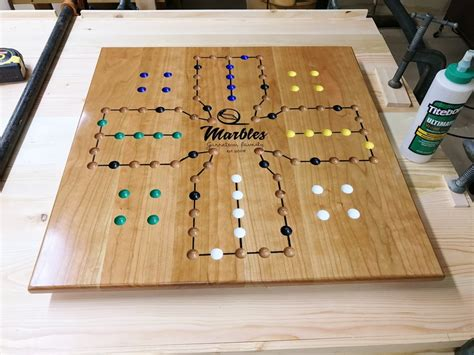 aggravation board template cherry aggravation board by woodshaver tony c lumberjocks woodworking community