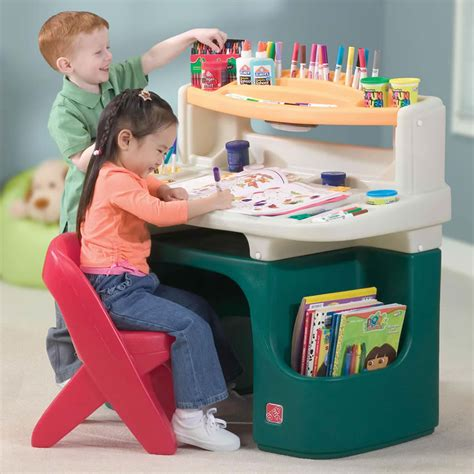 step2 deluxe art master desk with chair an art desk for piglet and a rainbow loom for snubnose