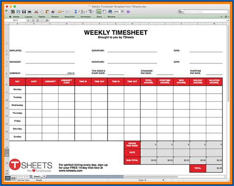 Free 4+ Samples of Google Sheets Timesheet Template ...