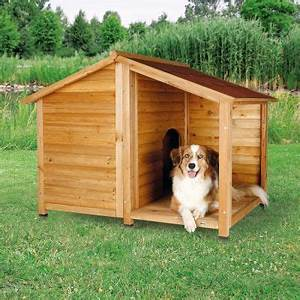 Niche Pour Chien Avec Terrasse : trixie natura lodge avec terrasse niche pour chien zooplus ~ Dailycaller-alerts.com Idées de Décoration