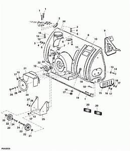 John Deere Snowblower Parts Diagram