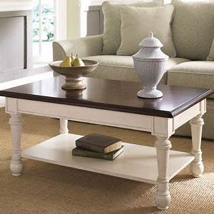 best 25 painted coffee tables ideas on pinterest rustic With two tone wood coffee table