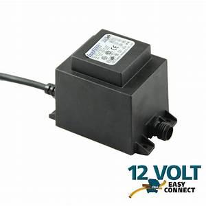 Transformateur Pour Led 12v : transformateur ext rieur 12v 60w basse tension eclairage ~ Edinachiropracticcenter.com Idées de Décoration