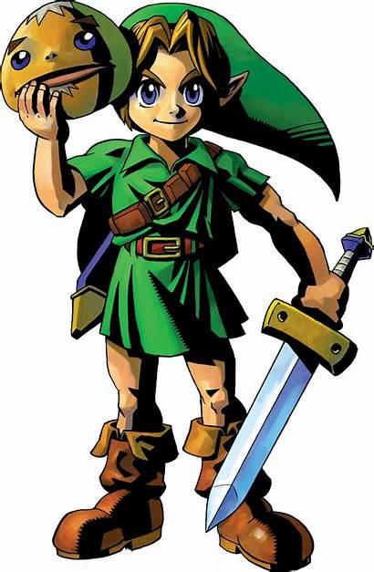 Link Mask Zelda Majora Artwork Epona