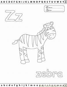 Z Zebra Edu Coloring Page - Free Alphabets Coloring Pages ...