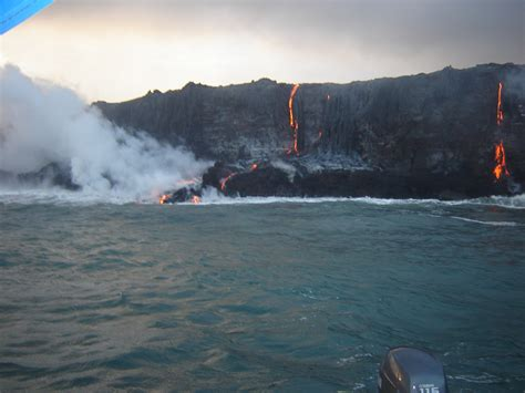 Lava Boat Tours On The Big Island by Big Island Lava Boat