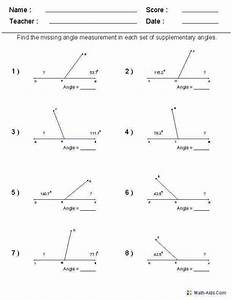 Free Printable Geometry Worksheets For High School And Fun