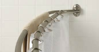 Zenith Curved Shower Curtain Rod