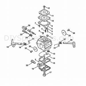Stihl Ms 191 Chainsaw  Ms191t  Parts Diagram  Carburetor