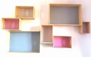 Etagere Murale Jaune : etagere murale couleur 15 id es de d coration int rieure french decor ~ Teatrodelosmanantiales.com Idées de Décoration