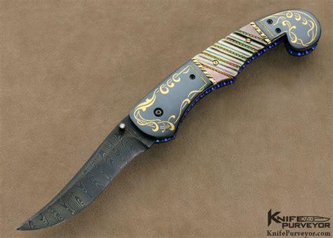 Jim And Joyce Minnick Art Knife Linerlock