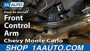 How To Replace Control Arm  U0026 Ball Joint 00