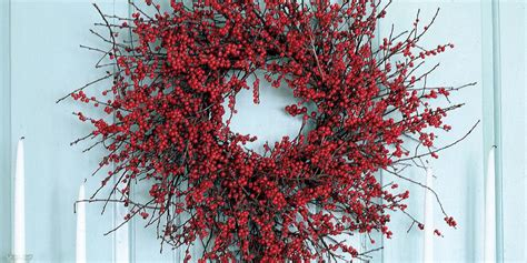 red berry wreath 27 diy berry wreath ideas guide patterns