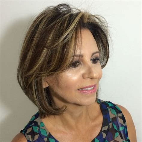 2020 Latest Dark Brown Hairstyles For Women Over 50