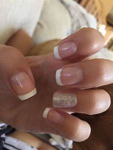 48 Most Popular Nail Art For Fall - Gel French manicure ...