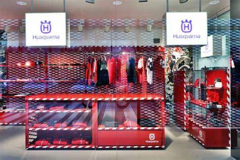 husqvarna shop showroom husqvarna in biandronno italy by buratti battiston