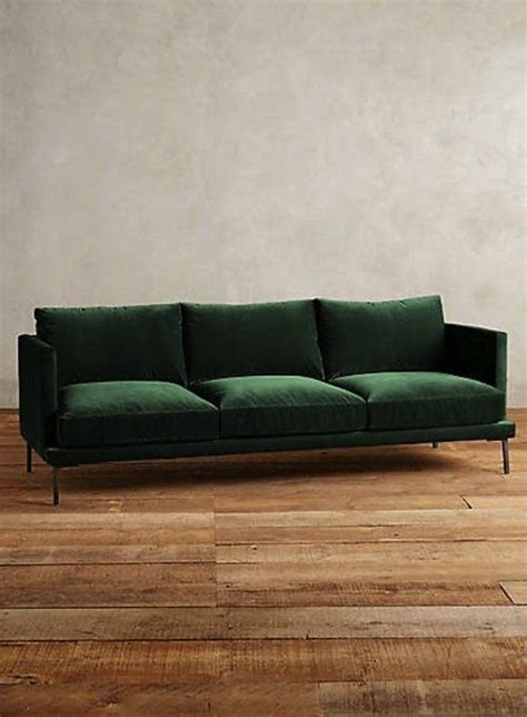 green settee 25 best ideas about green sofa on green