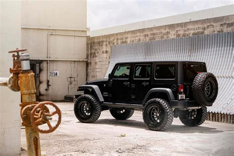 vossen jeep wrangler jeep wrangler that was in trend before suv become a