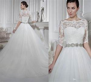 new arrival detachable bodice sweetheart a line wedding With wedding dress removable sleeves