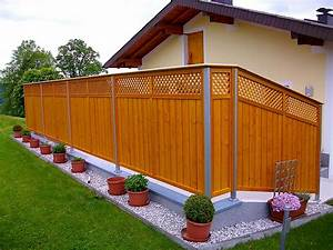 Sichtschutz Tür Garten : z une sichtschutz von hiag balkonbau ~ Sanjose-hotels-ca.com Haus und Dekorationen