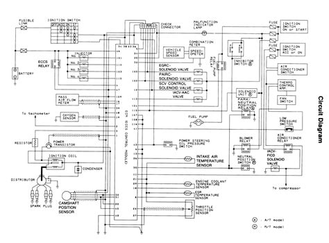 1989 Nissan Fuel Wiring Diagram by Repair Guides Electronic Engine Controls Engine